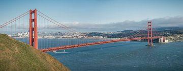 Golden Gate bridge, San Francisco sur
