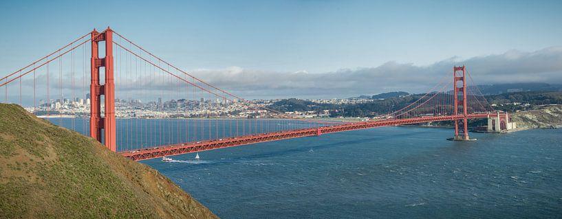Golden Gate brug, San Francisco van Bas Wolfs