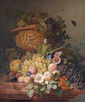 Stillleben mit Blumen und Früchten, Eelke Jelles Eelkema