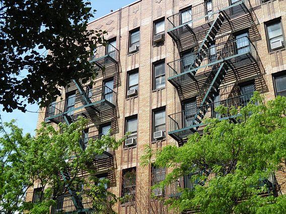 Brandtrappen  New York  8 Ave 49 Street