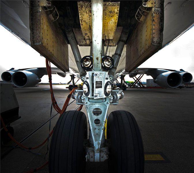 Boeing 747 Nosegear van Wouter Sikkema