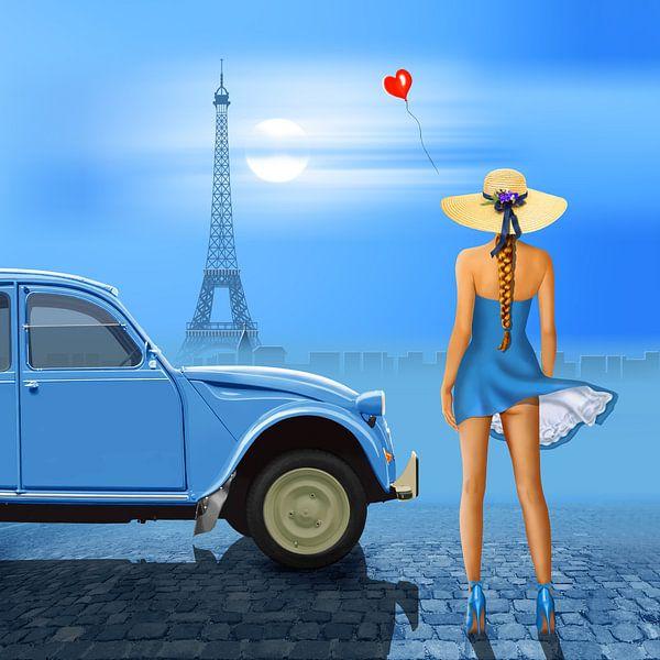 French blue von Monika Jüngling