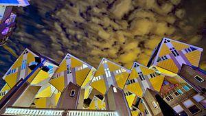 De kubiswoningen van Rotterdam Blaak van
