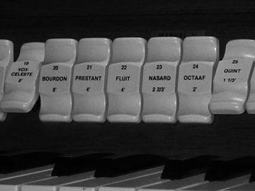 Orgel Registers van Wilbert Van Veldhuizen