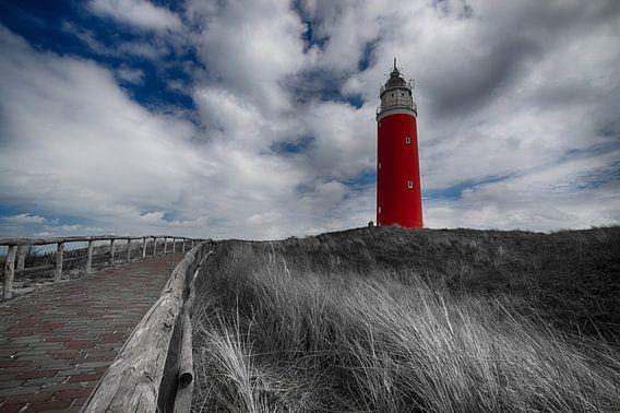Vuurtoren Texel van Patrick van Oostrom