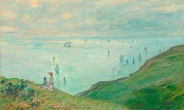 Klippen von Pourville, Claude Monet