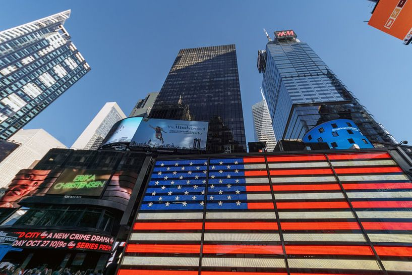 New York        Times Square sur Kurt Krause