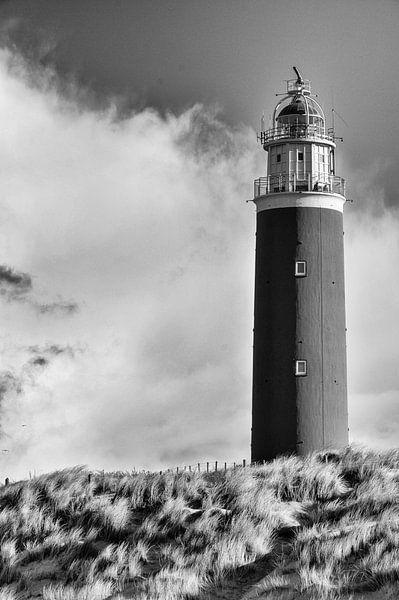 Leuchtturm Texel von Loek van de Loo
