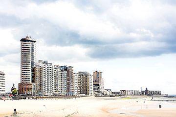 Skyline van de boulevard van Vlissingen van Fotografie Jeronimo