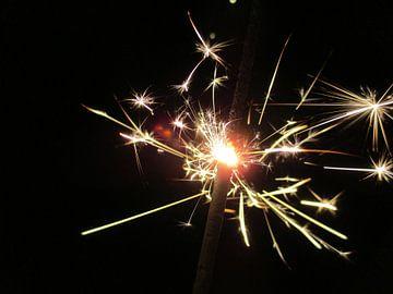 Vuurwerk; sterretje von Froukje Hobma