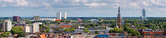 Panorama Groningen zuid van Anton de Zeeuw