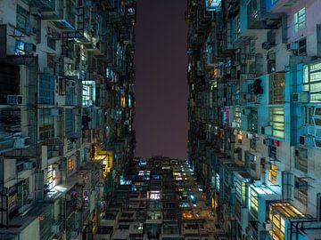Architektur des Montane Mansion in Hongkong von Teun Janssen