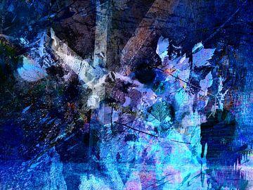 Modern, Abstract kunstwerk - The Storm Of Memories van