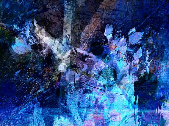 Modern, Abstract kunstwerk - The Storm Of Memories