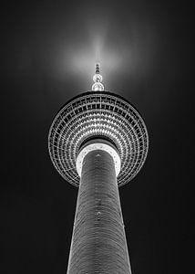 Fernsehturm - Alexanderplatz - Berlin - Zwart Wit