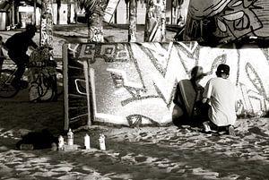 Street art at Venice Beach, California