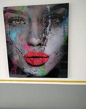 Kundenfoto: Just Face - 600 - Abstrakt Game von Felix von Altersheim, auf alu-dibond