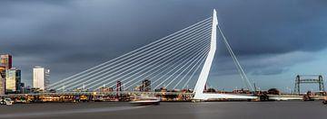 Schöne, beeindruckende Skyline von Rotterdam