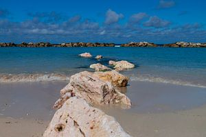 Zon, zee en strand van Willemke de Bruin