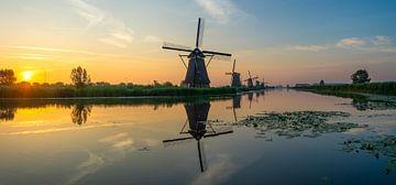 Kinderdijk, Zuid-Holland van Domenique van der Horst