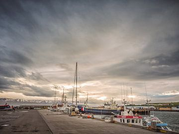 Husavik Harbour van Lex Schulte