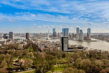 Skyline Rotterdam sur Danny van Vessem