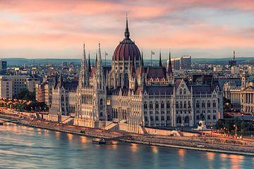 Parlement Boedapest van Manjik Pictures