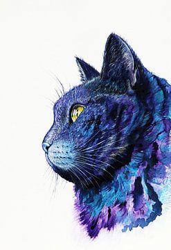 Katze von Nika Akin