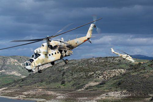 Cypriotische Luchtmacht Mi-35P Hind