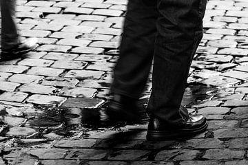 walking in Brussels van