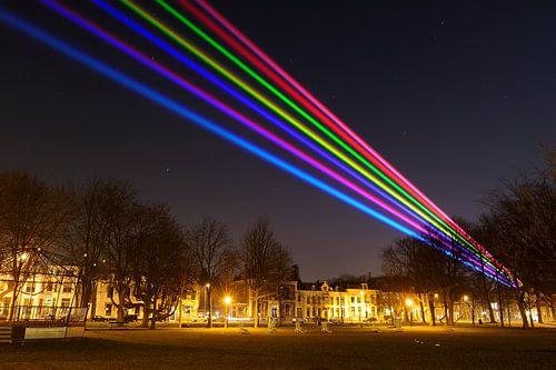 Sol Lumen over Lepelenburg in Utrecht