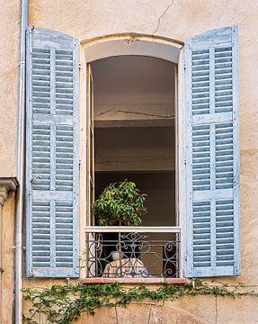 Fenstertür mit Jalousieklappe von Anouschka Hendriks