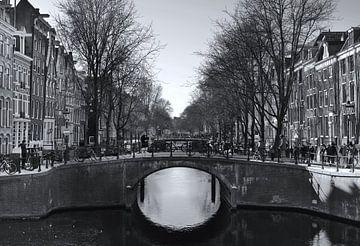 Amsterdamer Grachten von Simon Garcia