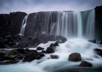 Cascade d'Öxarárfoss sur Roelof Nijholt