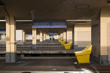 Treinstation Brussel-Noord van Miss Dee Photography