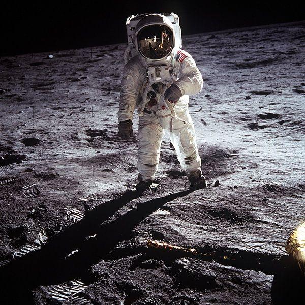 Eerste maanlanding, 1969 van Moondancer .