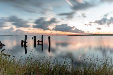 Zeeland Veerse lake sur Björn van den Berg
