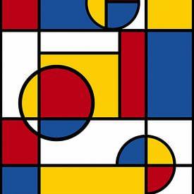 Piet Mondriaan Art 4 van Marion Tenbergen