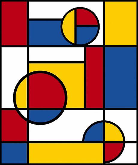 Piet Mondrian Art 4