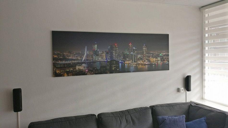 Klantfoto: Het uitzicht op de skyline van Rotterdam van MS Fotografie