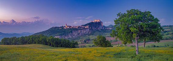 Zonsondergang in Emilia-Romagna - San Leo