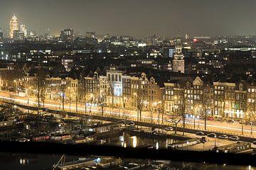Een avond op de Prins Hendrikkade in Amsterdam  sur Marcia Kirkels