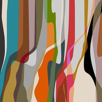 Abstracte samenstelling 1158 van Angel Estevez