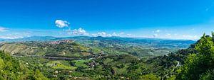 Panorama van Erice, Sicilië van
