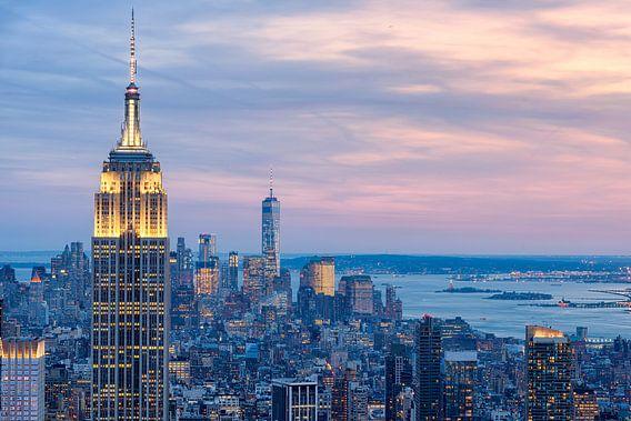 Manhattan vanaf Top of de Rock (Rockefeller Center)