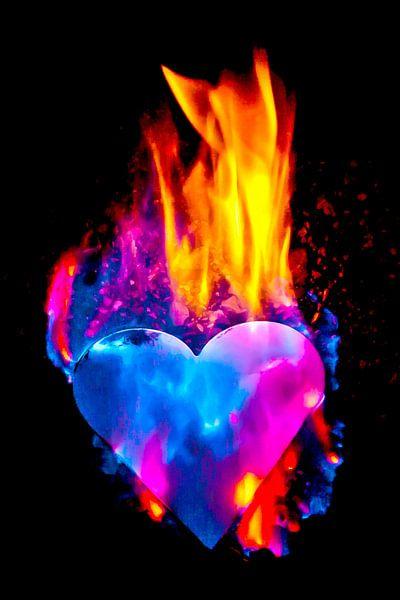 burning heart (1) sur Norbert Sülzner