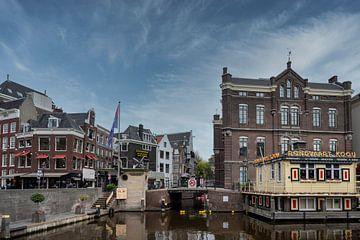 De Oude Turfmarkt in Amsterdam van Peter Bartelings Photography