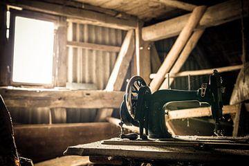 La vieille machine à coudre sur MindScape Photography