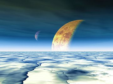 Een planeet van Alexandra Kleist