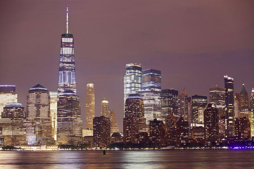 Skyline New York van Milou van den Heuvel